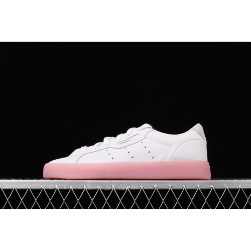 Ciencias Sociales Intolerable si puedes  Buy Adidas Originals Sleek W Women White Pink EF6628 36-39 - Adidas  Originals Sleek W Shoes sale