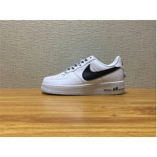 Men Nike Air Force 1 07 LV8 NBA White Black Shoe Item NO 823511 103
