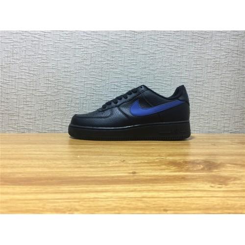 new products c4f52 622ff Men Nike Air Force 1 Black Blue Shoe Item NO AA4083 003