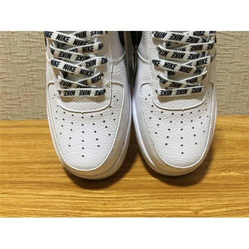 buy online f12b5 c21d7 ... Nike Air Force 1 Sale - Unisex Nike Air Force 1 07 LV8 White Black Shoe