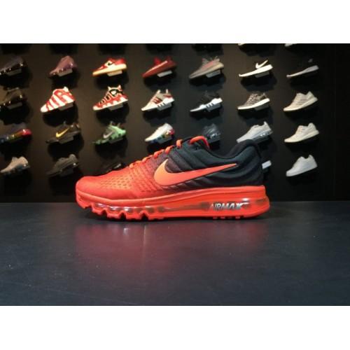 9f38310d99550d Buy Men Nike Air Max 2017 Running Red Black Shoe Item NO 849559 600 ...