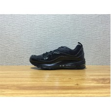 Men Nike Air Max 98 Supreme Running Black Shoe Item NO 844694 001