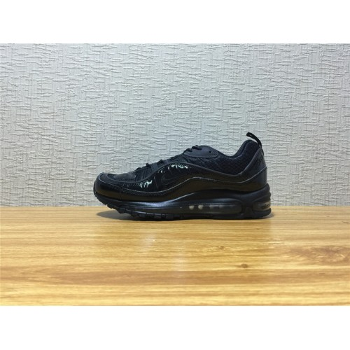 Nike Air Max 98 Sale - Men Nike Air Max 98 Supreme Running Black Shoe Item  NO 844694 001 d7a64cc7f4