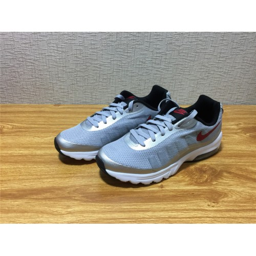 huge discount 8877a da2be ... Men Nike Air Max Invigor Running White Silvery Shoe Item NO 749680 004  ...