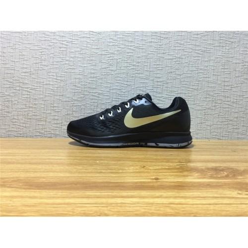 size 40 80a8d d493a Men Nike Air Zoom Pegasus 34 Running Black Shoe Item NO 880555 017