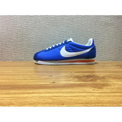 tráfico Pascua de Resurrección Contrapartida  Cheap Unisex Nike Classic Cortez Nylon Blue White Shoe Item NO 488291 404 - Nike  Classic Cortez Shoes sale
