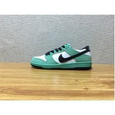 Unisex Nike Dunk Low Pro IW Dunk SB Skate White Green Black Shoe Item NO  819674 76e360f4b8