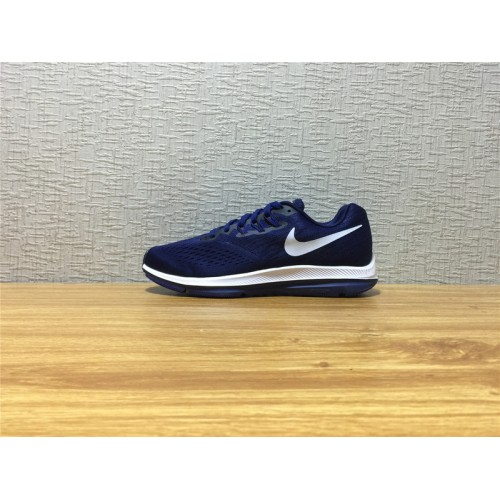 5e93359b124 Hot Men Nike Zoom Winflo 4 Running Dark Blue Shoe Item NO 898466 400 ...