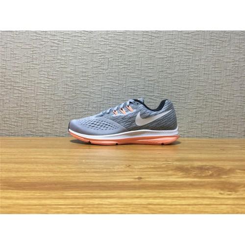 info for d9293 a2056 Women Nike Zoom Winflo 4 Running Silvery Gray Shoe Item NO 898485 003