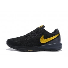 Nike Air Zoom Structure 22 Men Black Yellow