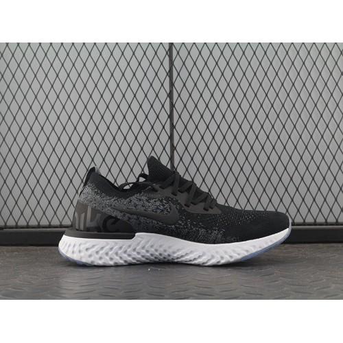 53a628c114a4 Hot Nike Epic React Flyknit Black White AQ0067-001 36-45 - Nike Epic ...