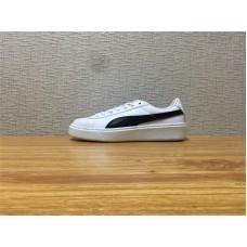 Unisex Puma Basket Platform Core White Black Gold Shoe Item NO 364040 05 8d264efa91