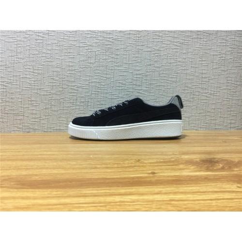 brand new a1cca 4b869 Unisex Puma Basket Platform Switch Black White Shoe Item NO 365628 01