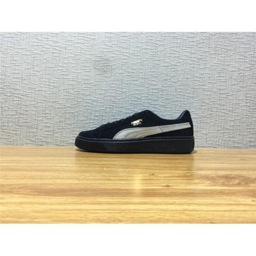 Puma Suede Platform Sale - Unisex Suede Platform SD Black Shoe Item NO  364718 03 20ef6895e
