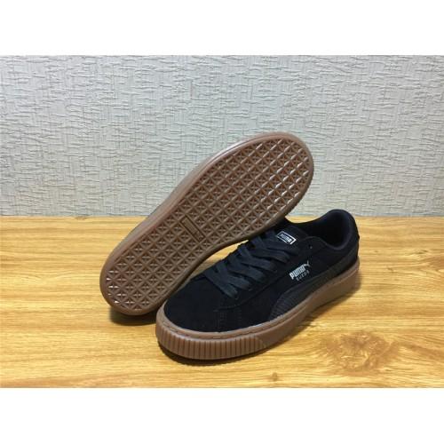 ea54469c2de Buy Unisex Puma Suede Platform Animal Black Shoe Item NO 365109 01 ...
