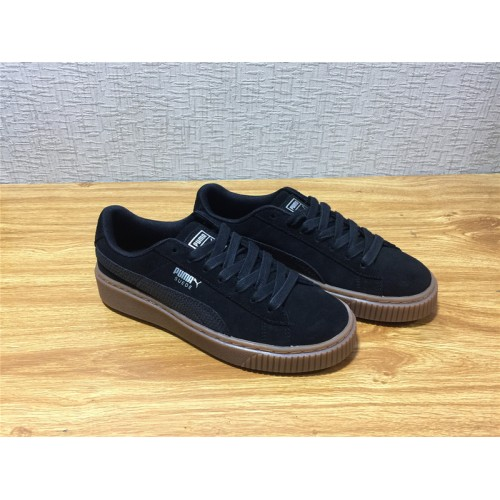 3dc5ee45d5bb Buy Unisex Puma Suede Platform Animal Black Shoe Item NO 365109 01 ...