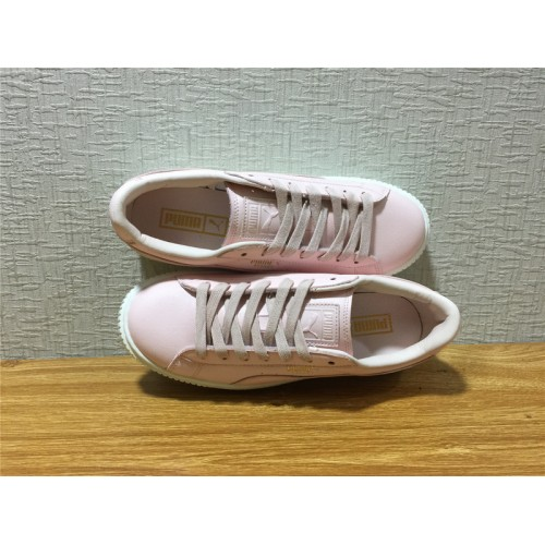 ... Puma Suede Platform Sale - Women Puma Basket Platform L Pink Shoe Item  NO 365821 02 ... 724044bc1