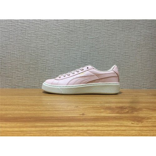 311f504a5f41 Hot Women Puma Basket Platform L Pink Shoe Item NO 365821 02 - Puma ...