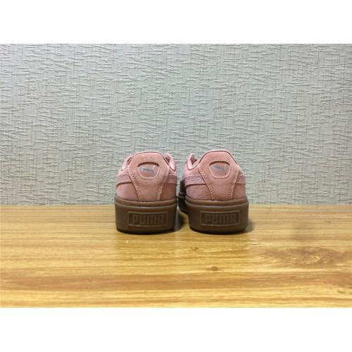 Buy Women Puma Suede Platform Animal Pink Shoe Item NO 365109 02 ... 386382162